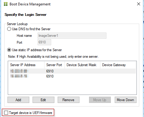Citrix PVS: UEFI Boot of Targets – Xenit Technical