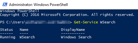 """Outlook cannot perform your search"""" on Windows Server 2016 running"""