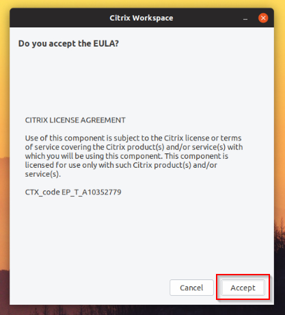 Citrix Workspace Linux