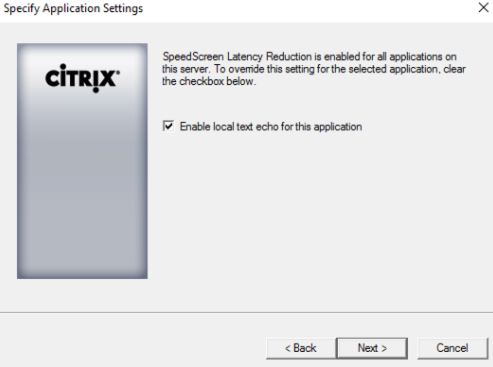 Citrix brings back Local Text Echo – Xenit Technical