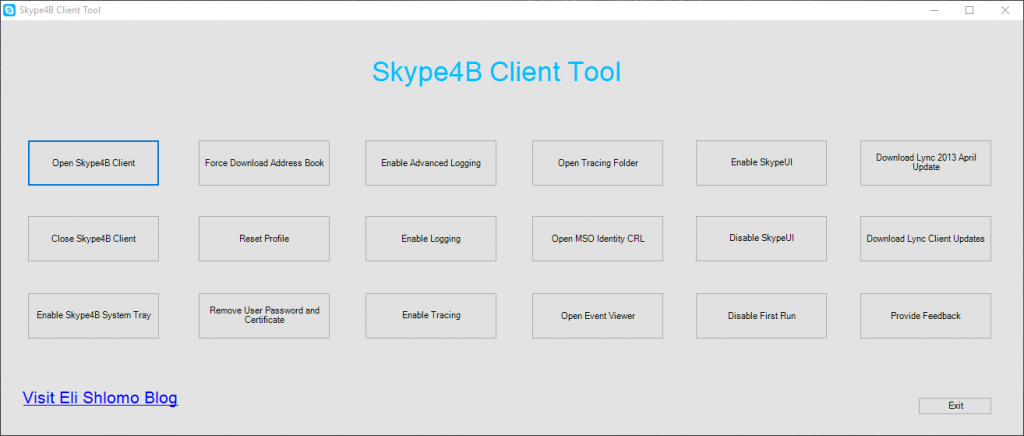 Skype4BClientTool