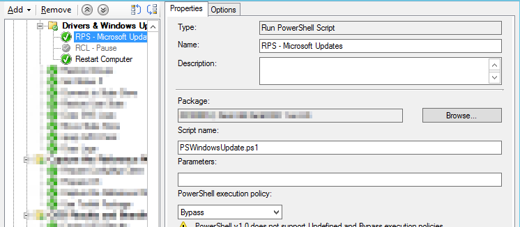 Use PowerShell & Windows Update to force drivers to be