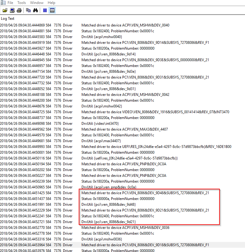 Use PowerShell & Windows Update to force drivers to be downloaded