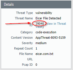 Create Threat Exceptions for specific traffic – Xenit Technical