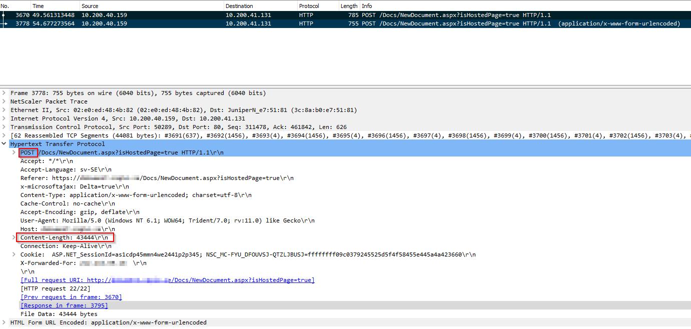 netscaler remove snip command line